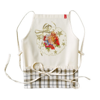 Baby Jesus Zazzle Hearts Apron
