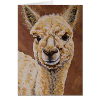 Baby Jewel, Alpaca Card