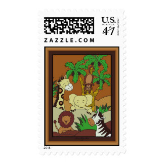 Baby Jungle 10 Stamps