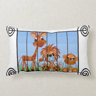 Baby Jungle Animal Pillow