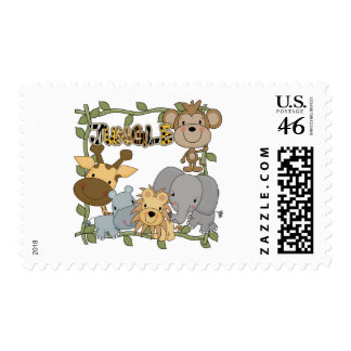 Baby Jungle Animals Tshirts and Gifts Postage