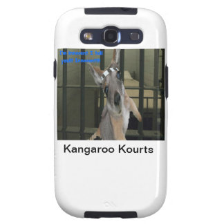 Baby Kangaro wants Out of Jail Samsung Galaxy SIII Cases