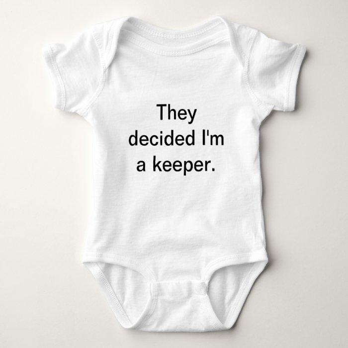 baby keeper baby bodysuit