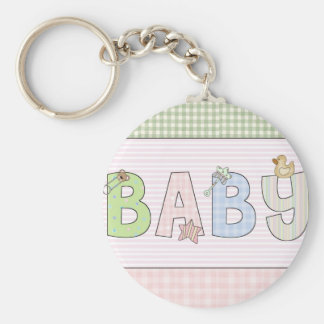 Baby- Keychain: Sweet Baby Collection Basic Round Button Keychain