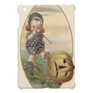 Baby Kicking Jack O' Lantern Pumpkin Cover For The iPad Mini
