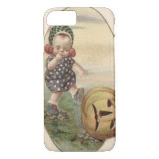 Baby Kicking Jack O' Lantern Pumpkin iPhone 8/7 Case