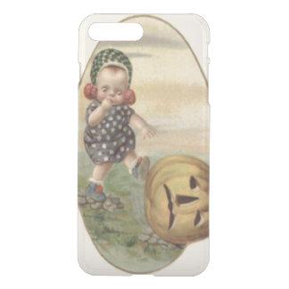 Baby Kicking Jack O' Lantern Pumpkin iPhone 8 Plus/7 Plus Case