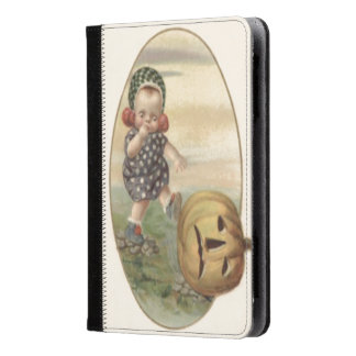 Baby Kicking Jack O' Lantern Pumpkin Kindle Case