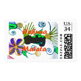 Baby kid's Hakuna Matata Stamp