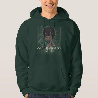 "Baby Kilt ""DON'T TRY WON'T FAIL"" Hoodie"