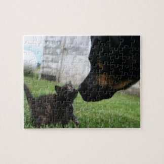 Baby kitten and dog puzzle gift ideas cute puzzles