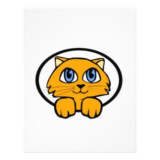 Baby Kitten Cartoon Flyer