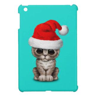 Baby Kitten Wearing a Santa Hat iPad Mini Covers