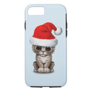 Baby Kitten Wearing a Santa Hat iPhone 8/7 Case