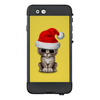 Baby Kitten Wearing a Santa Hat LifeProof NÜÜD iPhone 6 Case