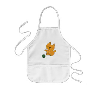 Baby Kitty Chan Kids' Apron