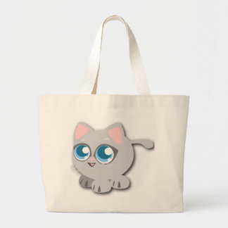 BABY KITTY LARGE TOTE BAG