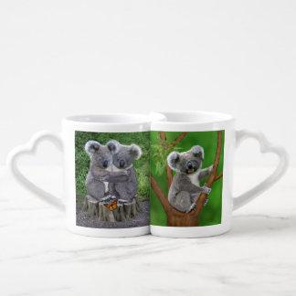 Baby Koala Bear Huggies Coffee Mug Set