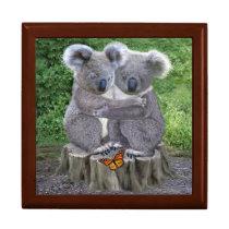 Baby Koala Bear Huggies Jewelry Box