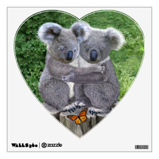 Baby Koala Bear Huggies Wall Decal