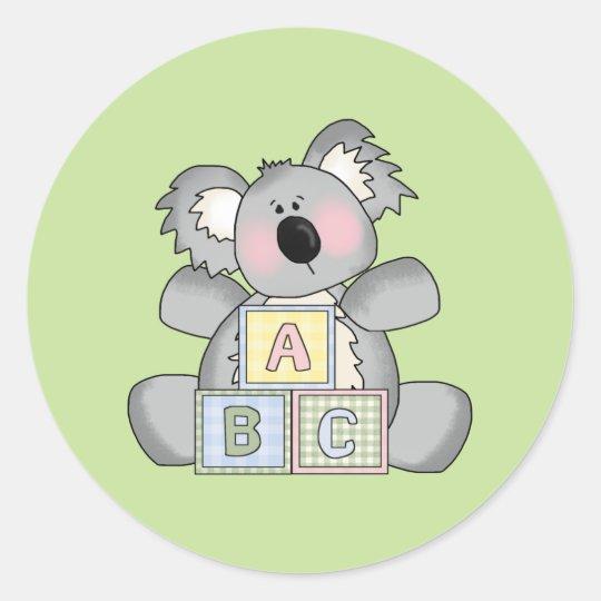 Baby Koala Bear Sticker