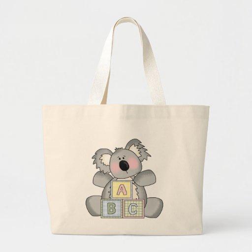 Baby Koala Bear Tote Tote Bag