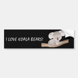 Baby Koala Bumper Sticker