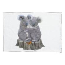 BABY KOALA HUGGIES PILLOWCASE
