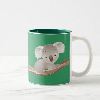 Baby Koala Two-Tone Coffee Mug