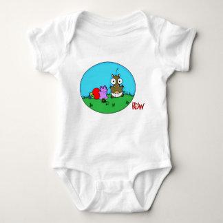 Baby Kow Playing Tee Shirt
