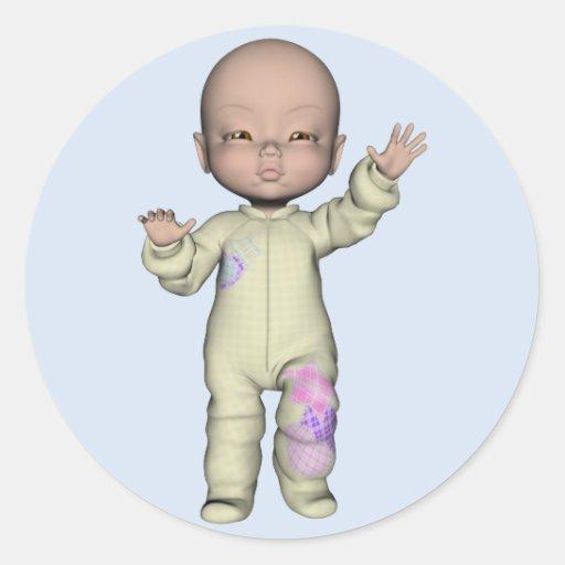 Baby Kyle Sticker