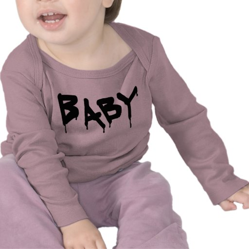 """Baby"" Label Tee Shirt"