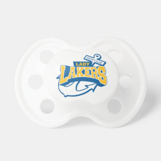 baby Lady Lakers Pacifier