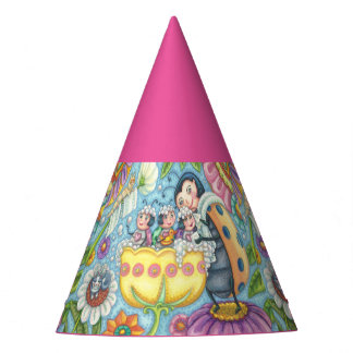 Baby Ladybugs Bubblebath PARTY HAT * Customize