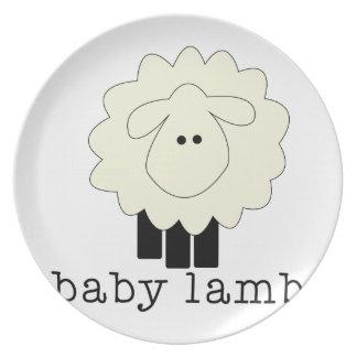 Baby Lamb Plates