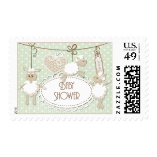Baby Lamb Toys Baby Shower Postage
