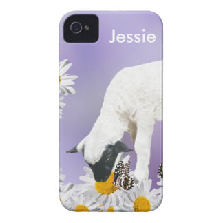 Baby Lambs first steps Case-Mate iPhone 4 Case