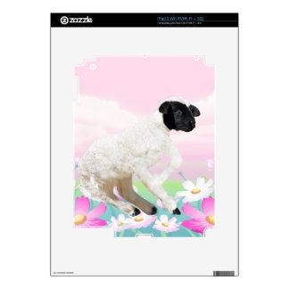 Baby Lambs first steps iPad 2 Skin