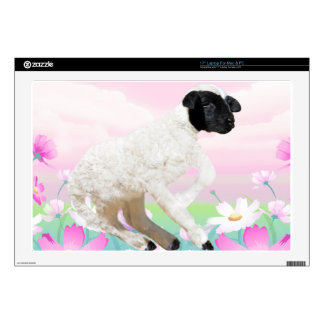 Baby Lambs first steps Skins For Laptops