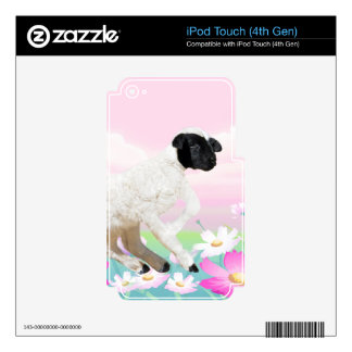 Baby Lambs first steps iPod Touch 4G Skin