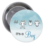 Baby Laundry - Boy Buttons
