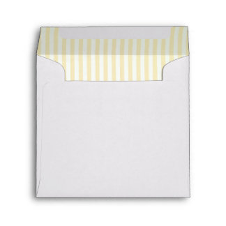 Baby Lemon Striped Lining Square Envelope