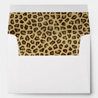 Baby Leopard Spots Envelope