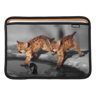 Baby Leopards MacBook Air Sleeve