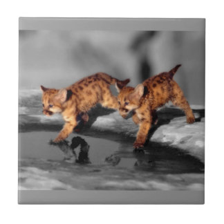 Baby Leopards Tile