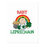 Baby Leprechaun Tshirts and Gifts Post Card