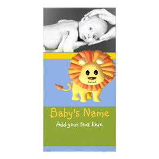 Baby Lion Announcement