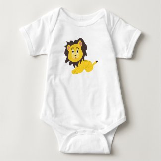 Baby LIon Baby Bodysuit