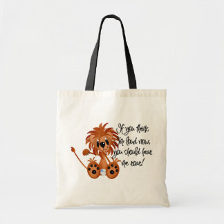 Baby Lion Hear Me Roar Tshirts and gifts Tote Bag