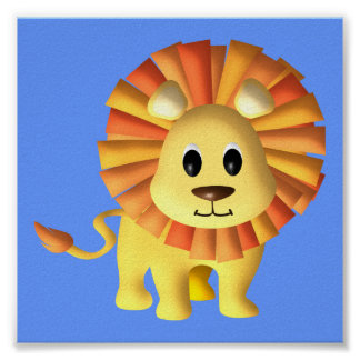 Baby Lion/ Nursery Decor